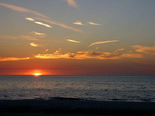 Sonnenuntergang an den Clearwater Beaches