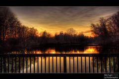Sonnenuntergang an der Amper Teil 2