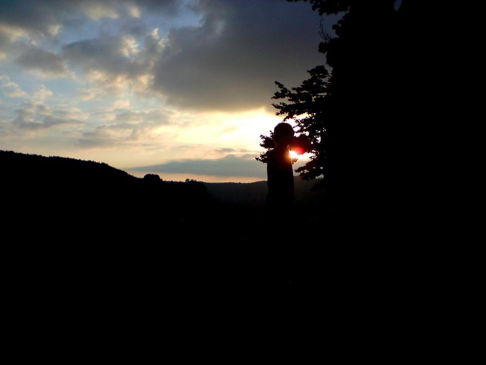 Sonnenuntergang an der Kansteinboofe