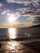 Sonnenuntergang an der Kroatischen Adriaküste