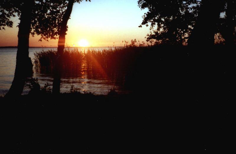 Sonnenuntergang an der Müritz
