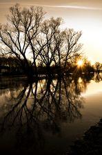 ~~~~~~~~~~~~~~~~~Sonnenuntergang an der Mulde~~~~~~~~~~~~~~~~~~~