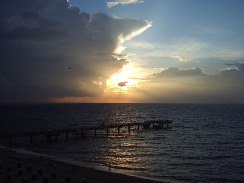 Sonnenuntergang an der Ostsee 2