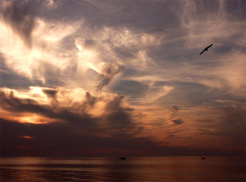 Sonnenuntergang an der Ostsee (Dänemark)