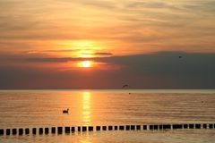 Sonnenuntergang an der Ostsee II