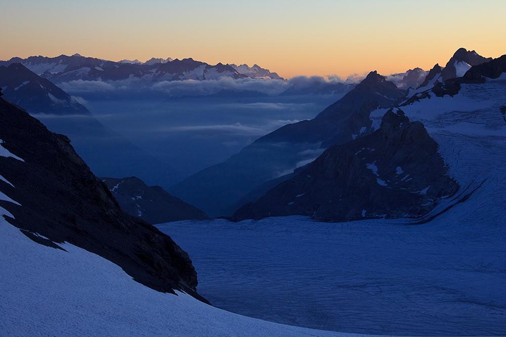 Sonnenuntergang an der Planurahütte (2)