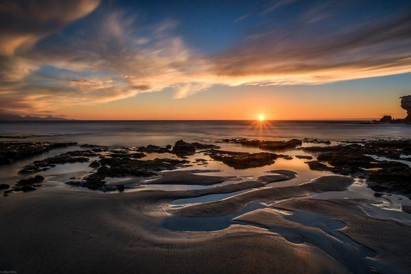 *Sonnenuntergang an der Playa de la Pared*