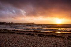 Sonnenuntergang an der Playa de Palma