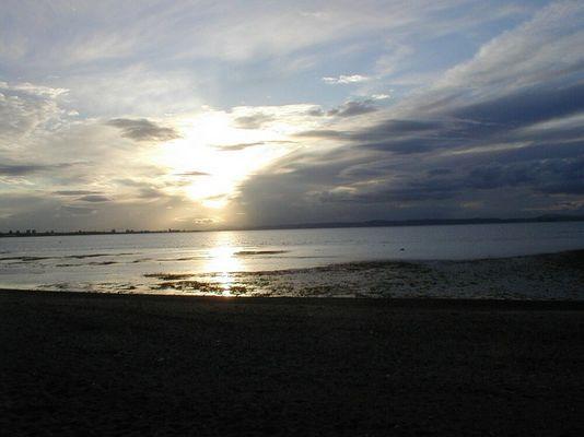 Sonnenuntergang an der Schottischen Ostküste