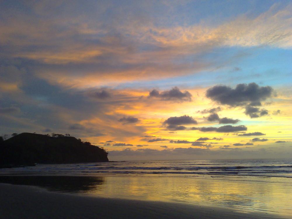 Sonnenuntergang an der Westküste von Costa Rica (2)