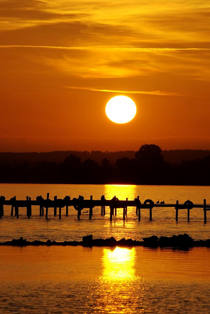 """Sonnenuntergang: Angst was """"weckschneiden"""" zu müssen. ( Horizont )"""