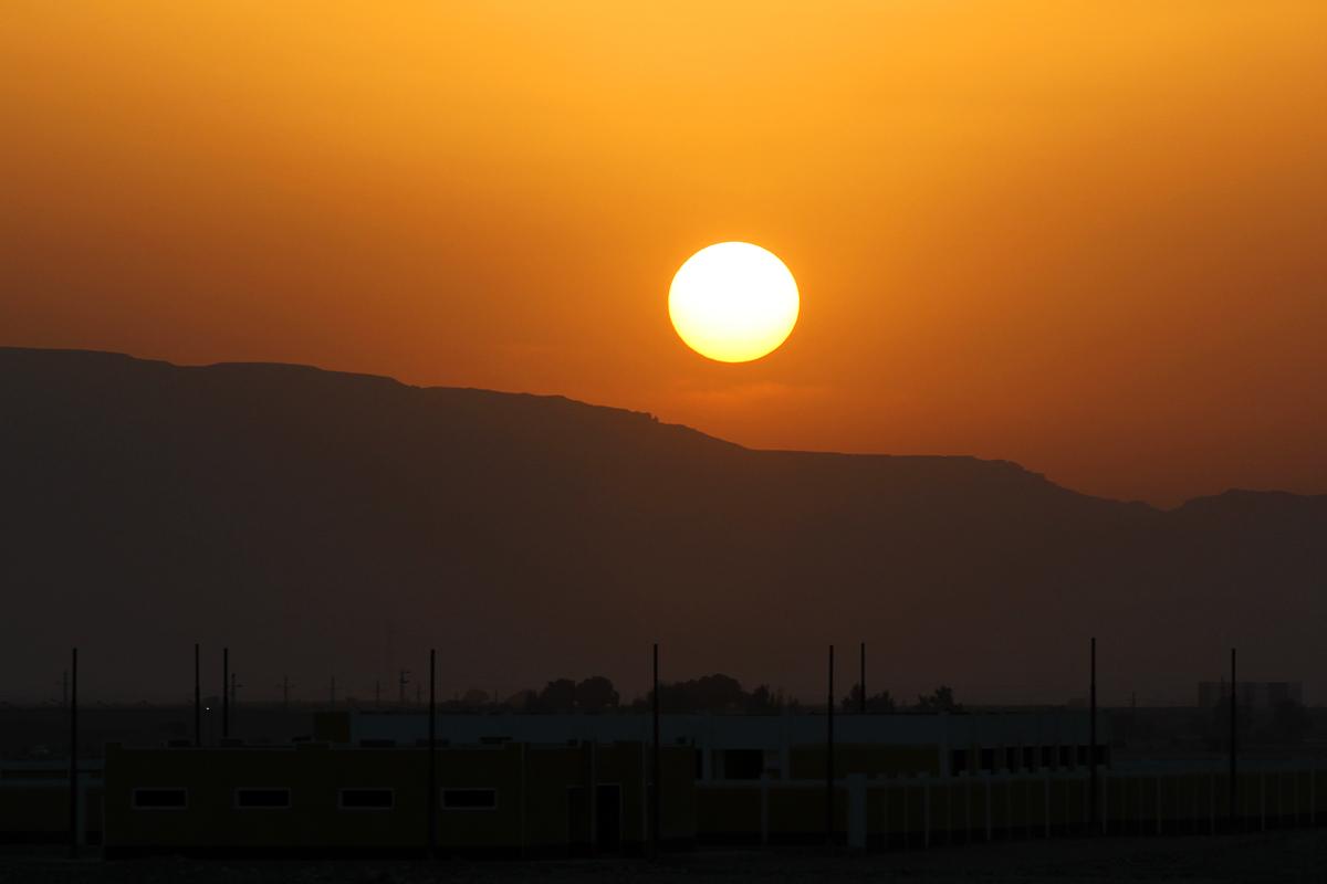 Sonnenuntergang Arabian Desert