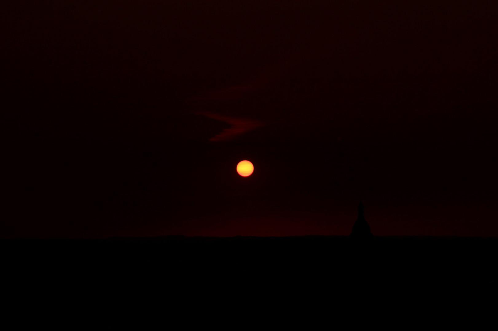 Sonnenuntergang Auerbach i.d.Oberpfalz