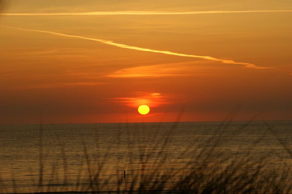 Sonnenuntergang auf Ameland II