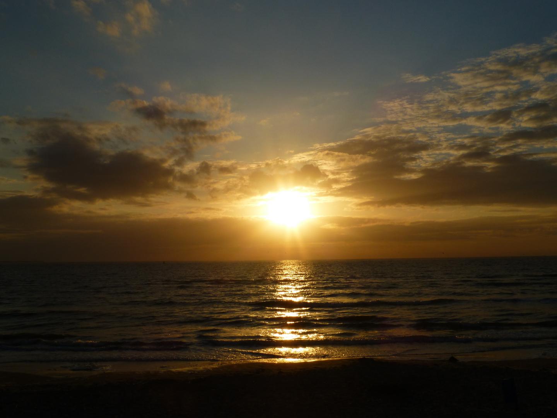 Sonnenuntergang auf Ameland III ...