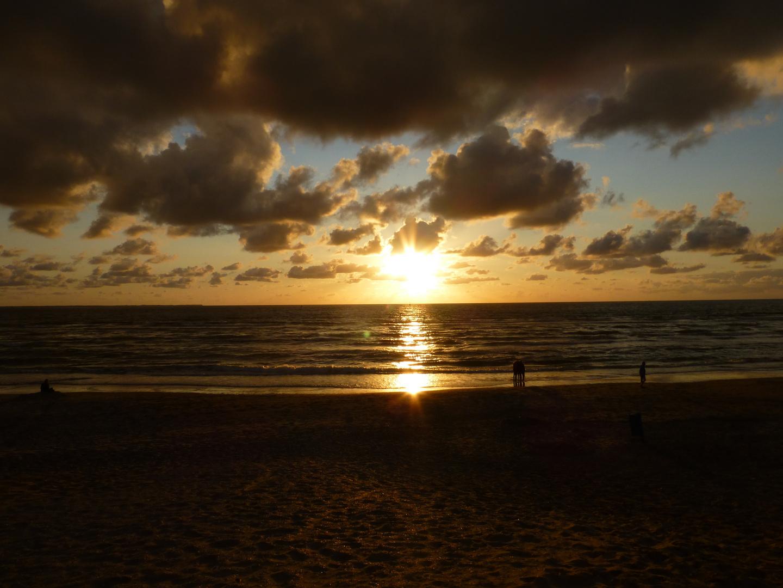 Sonnenuntergang auf Ameland IV ...