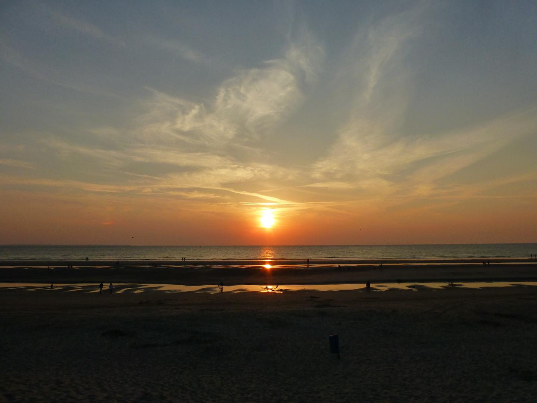 Sonnenuntergang auf Ameland V ...