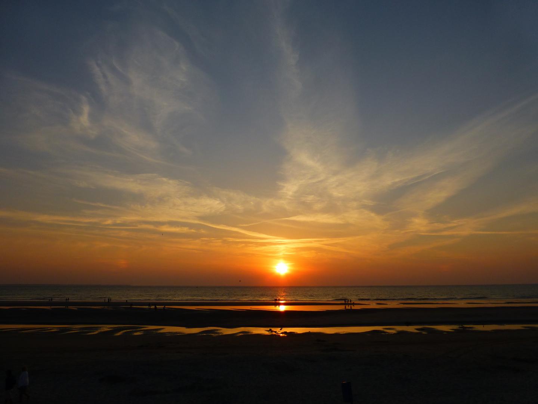 Sonnenuntergang auf Ameland VI ...