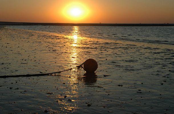 Sonnenuntergang auf Amrum