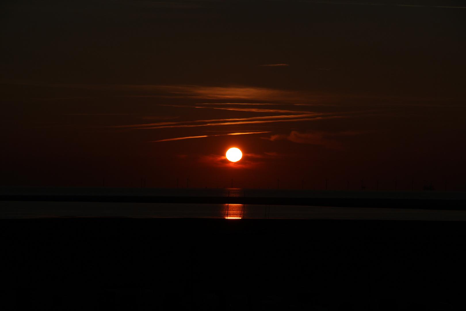 """""""Sonnenuntergang auf Borkum"""""""
