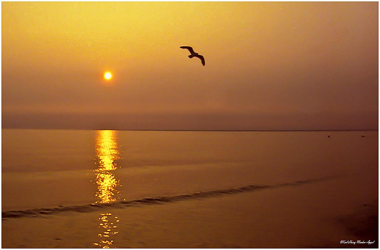 Sonnenuntergang auf Borkum. Augenblicke der Schönheit und der Ruhe_2