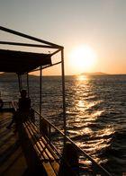Sonnenuntergang auf Bosporus