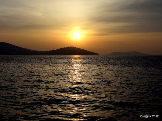 Sonnenuntergang auf Büyükada Istanbul (Große Insel)