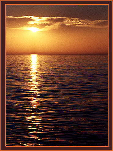 sonnenuntergang auf Corfu