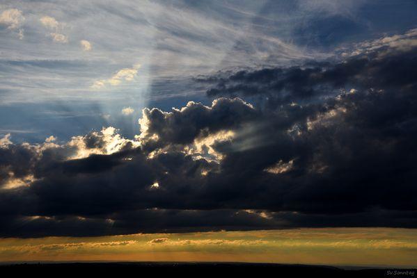 Sonnenuntergang auf dem Breitenstein I
