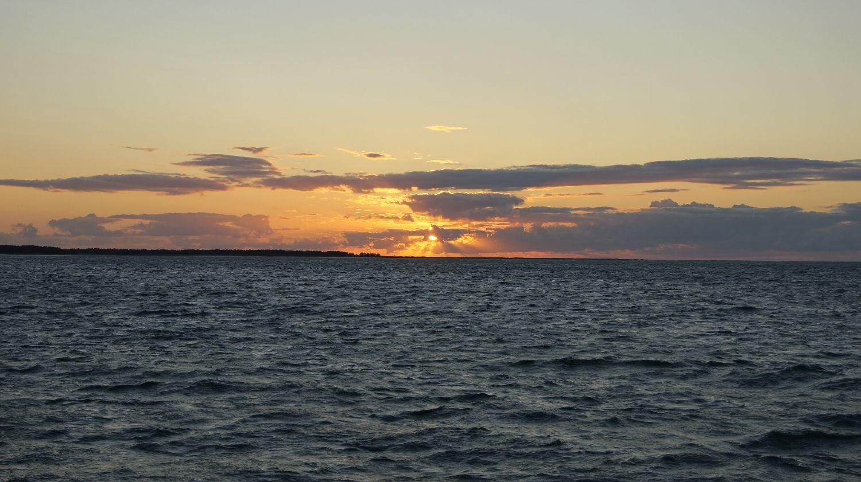 Sonnenuntergang auf dem Darss II