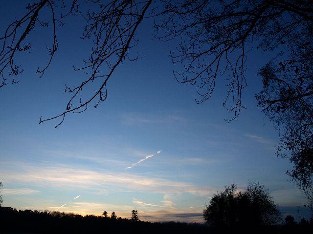 Sonnenuntergang auf dem Heiderhof 1
