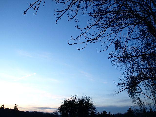 Sonnenuntergang auf dem Heiderhof 3