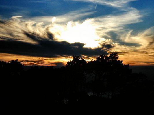 Sonnenuntergang auf dem Signal Hill (Kapstadt)