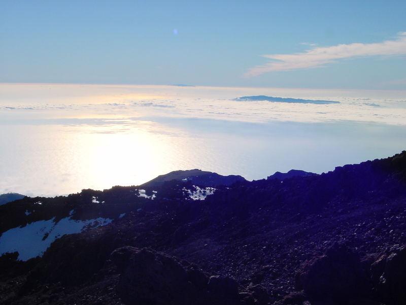 Sonnenuntergang auf dem Teide