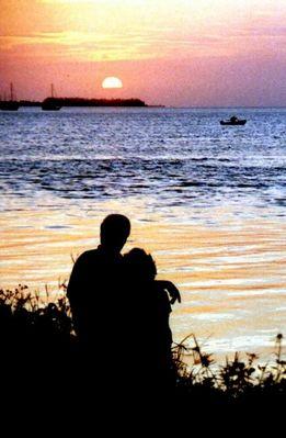 Sonnenuntergang auf den Keys