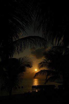 Sonnenuntergang auf den Malediven