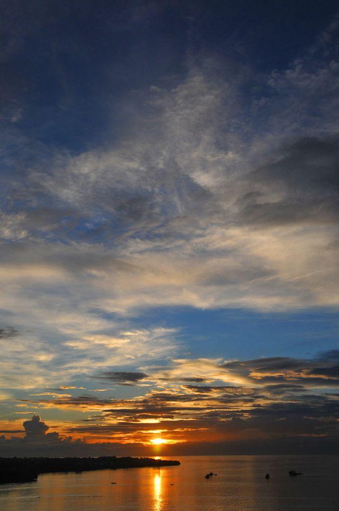 Sonnenuntergang auf den Philippinen von Jens Schade