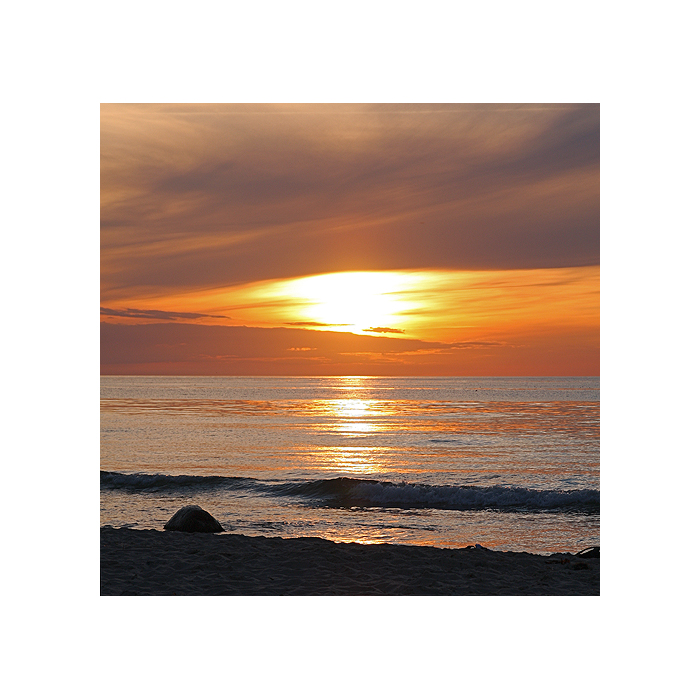 Sonnenuntergang auf der...