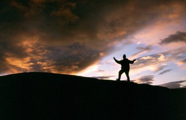 Sonnenuntergang auf der Hardangervidda