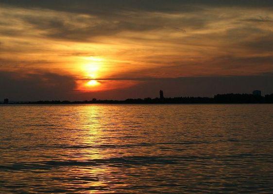 Sonnenuntergang auf der Insel Krk