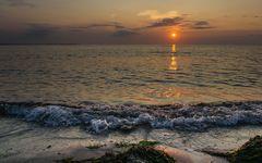 Sonnenuntergang auf der Insel Poel