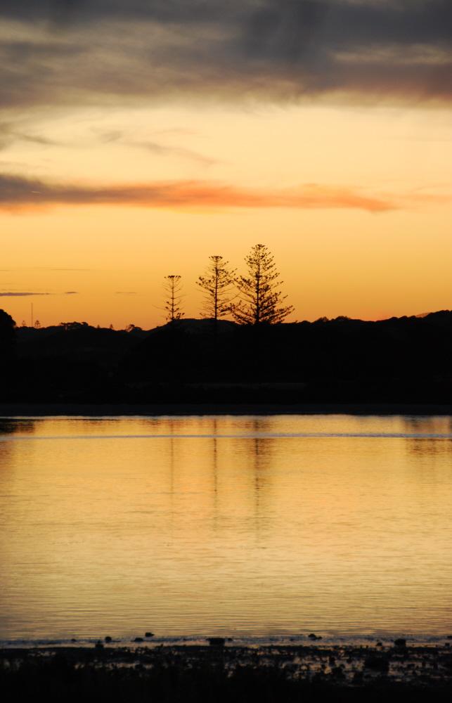 Sonnenuntergang auf der Südhalbkugel..