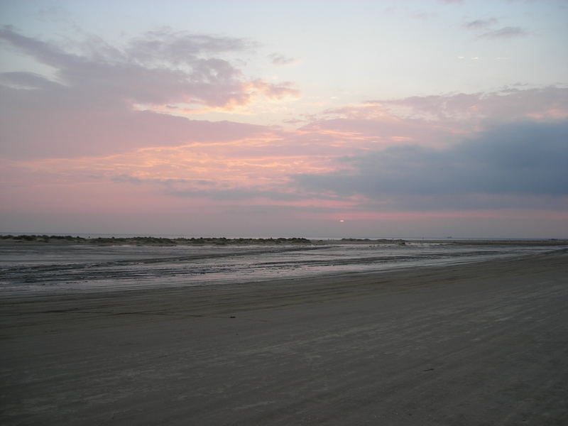 Sonnenuntergang auf Fanø