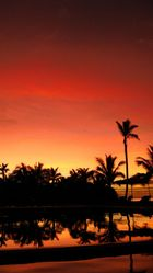 Sonnenuntergang auf Fiji