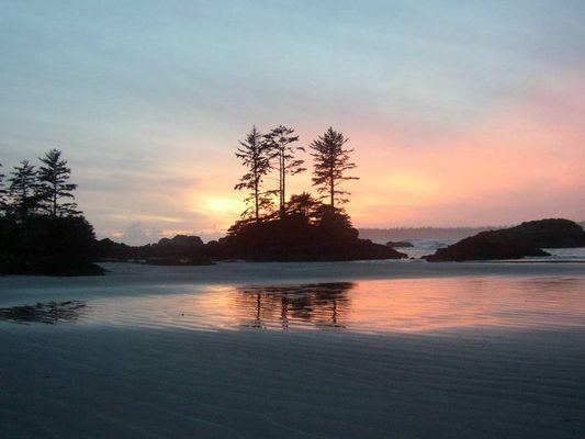 Sonnenuntergang auf Flores Island