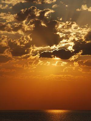 Sonnenuntergang auf Gotland (Schweden)
