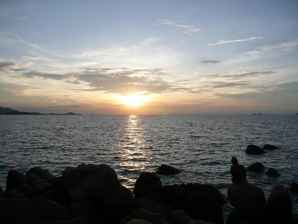 Sonnenuntergang auf Ko Samui