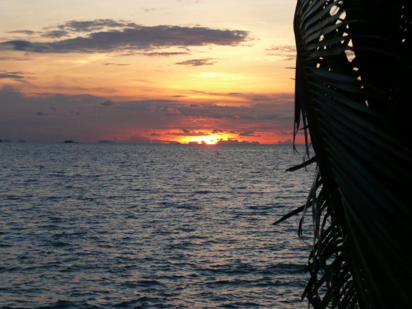 Sonnenuntergang auf Ko Samui .. near Big Buddha