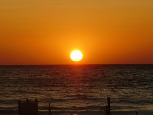 Sonnenuntergang auf Korsika Algajola