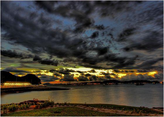 Sonnenuntergang auf Langkawi (Malaysia)